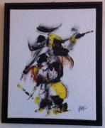 tableau personnages chasseur : le chasseur