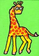 tableau personnages giraphe lanterne mignon enfant : Giraphe/Lanterne