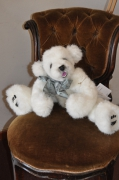 artisanat dart animaux arctophile artiste d ours chien de collection chien en peluche : Chien en peluche : Atanaël