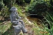 sculpture personnages : Pêcheur