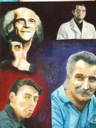 tableau personnages andre maillet johanes 0660585876 : les quatre