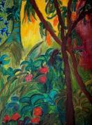 tableau : lumière tropicale