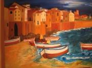tableau : port Italien