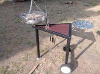 barbecue inox desing