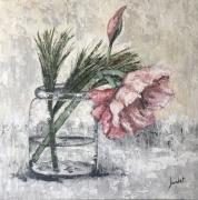 tableau fleurs bouquet de fleurs : Bouquet d'Amaryllis