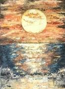 tableau paysages : Coucher du Soleil