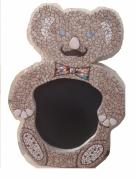 artisanat dart personnages mosaique nounours jouet : Nounours Hercule Poirot