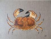 tableau animaux mer crabe peinture animaliere decoration : LE CRABE
