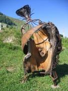 sculpture : MEMOIRES EN CHENE