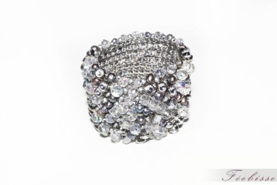 BIJOUX bracelet cristaux fantaisie Villes  - Glam'
