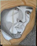 tableau personnages : larme d un homme