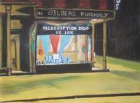 pastel pharmacie hopper