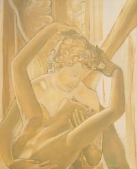 tableau ange amour