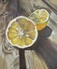 Citron sur table