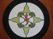 ceramique verre animaux mandalas carrelage avitali anatole jacob : Nature Batracienne