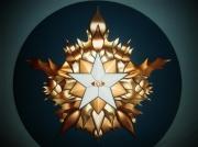 sculpture autres l etoile flambo etoile flamboyante avitali anatole jacob : L'étoile Flamboyante