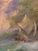 tableau marine marine : entre ciel et mer