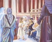 tableau autres : Jésus au temple