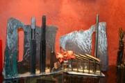 sculpture villes metalucubration capital imaginaire metal cadeau : capitale imaginaire Calgary