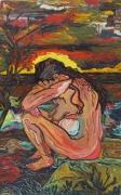 tableau personnages expressionisme : TRISTESSE