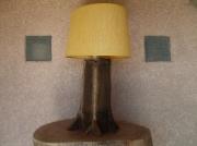 deco design autres lampe ancienne vieux bois leds : lampe ancienne