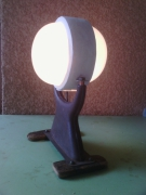 deco design marine lampe marine abstrait artdeco : moon-boat lamp