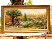 tableau paysages : Le chevrier