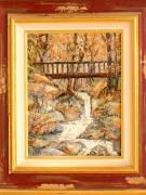 tableau paysages : La passerelle