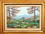 tableau paysages : Monte d'Oro (Corse)