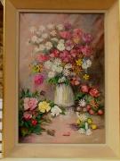 tableau fleurs : Printemps sur table