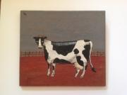 tableau animaux vache anglais tableau humour : British cow