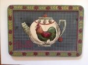 tableau theiere ardoises ecolier tableau coq : L'heure du thé