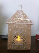 deco design autres lanterne pergamano fait main : lanterne pergamano