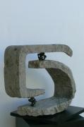sculpture abstrait fractue brassaclesmines jerome rouchon : LA FRACTURE DES C