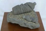 sculpture autres sculpture brassaclesmines jerome rouchon : BOUTEILLES D'EAU ECHOUEES