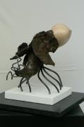 sculpture abstrait galerie monod sculpture jerome rouchon : HORTHENSE