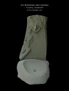 sculpture autres fontaine brassaclesmines jerome rouchon : LA FONTAINE AUX RAISINS