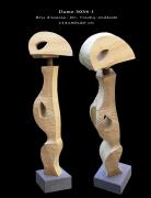 sculpture abstrait sculpture brassaclesmines jerome rouchon : JILL