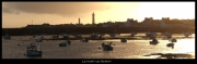 tableau architecture mer paysage port bretagne : Le port de Kerity