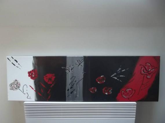 PAINTING Abstrait Acrylique  - Amande & Nath