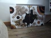 tableau abstrait : Bijou Atmosphèrique