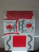 tableau abstrait : Coquelishow
