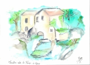autres paysages moulin le vigan : le moulin de la foux