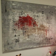tableau abstrait abstrait moderne contemporain tableau : Tableau abstrait, contemporain : Noe