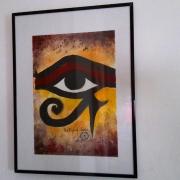 tableau scene de genre horus eye of horus egypte tableau : Tableau : Eye of Horus