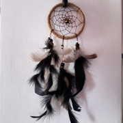 autres nature morte attrape reves dream catcheur plumes perles : Attrape rêves 1