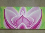 tableau fleurs lotus fleur yoga : Pleasure... la volupté