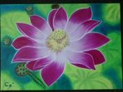tableau fleurs lotus fleur yoga : épanouissement vers la finitude