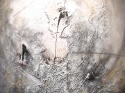 tableau abstrait : Vestiges à Monnet
