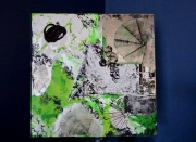"tableau abstrait : ""Amazonia"""